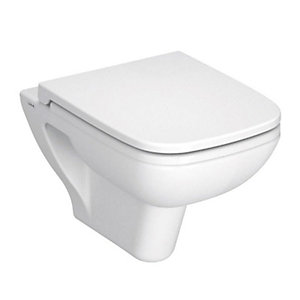 Vitra S20 Wall Hung Toilet Pan 5507L003-0101