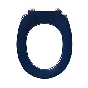 Ideal Standard Contour 21 Toilet Seat Blue S405736