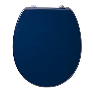 Ideal Standard Contour 21 Toilet Seat & Cover Blue S405836