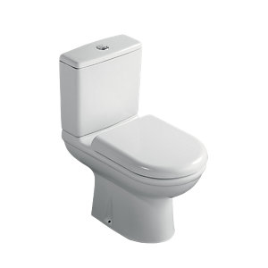 Ideal Standard Sandringham 31 Close Coupled Toilet Pan & Cistern Pack with Seat S161301