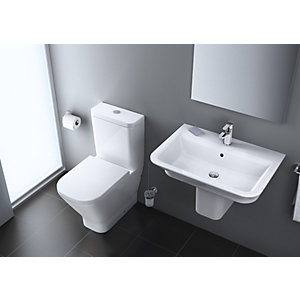 Roca the Gap Toilet with Seat