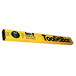 Stabila STB-H-0009 Spirit Toolbox Level with Free Extended Tip Dura-ink 5 Marker