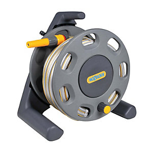 Hozelock 2412 25m Compact Reel with 25m Hose