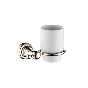 Bristan 1901 Chrome Tumbler & Holder