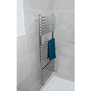 Towelrads Oxfordshire Chrome Towel Rail 1500mm x 500mm