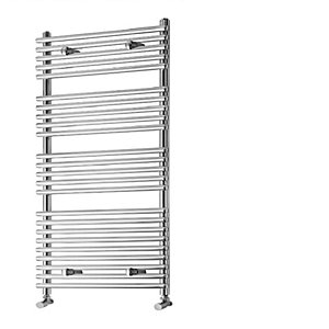 iflo Furnas Designer Electric Towel Radiator Chrome 1200mm x 500mm