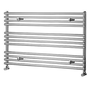 iflo Furnas Designer Towel Radiator Chrome 600mm x 1000mm