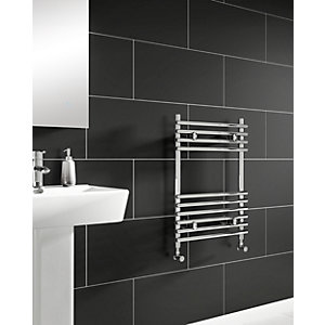 iflo Furnas Desinger Towel Radiator Chrome 700mm x 500mm