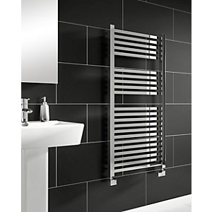 iflo Zimina Designer Towel Radiator Chrome 1200mm x 600mm