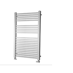 iflo Zimina Designer Towel Radiator Chrome 800mm x 600mm