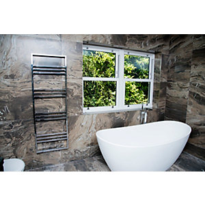 Towelrads Boxford Straight Towel Rail Chrome 500mm