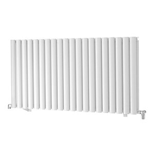 Towelrads Dorney Single Horizontal White Radiator 600mm
