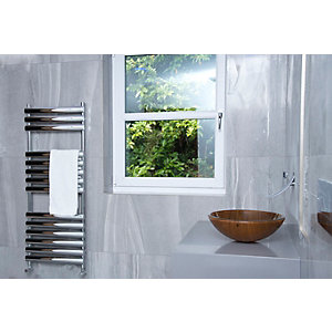 Towelrads Dorney Straight Ladder Towel Rail Chrome 500mm