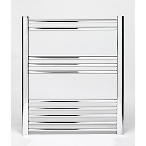 Towelrads Hamilton Straight Ladder Towel Rail Chrome 700mm