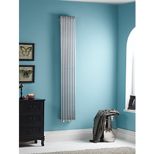 Towelrads Iridio Vertical Chrome Towel Rail 1800mm