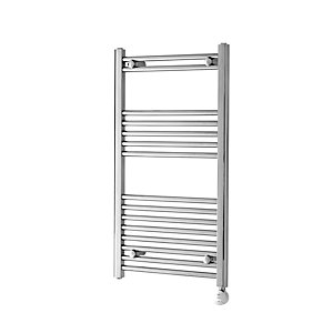 Towelrads Mccarthy Straight Ladder Degree Regulated Towel Rail 500mm Chrome