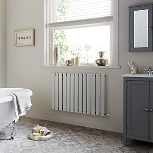 Towelrads Merlo Single Horizontal Chrome Radiator