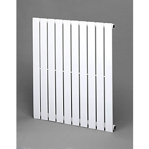 Towelrads Merlo Single Horizontal White Radiator 600mm