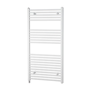 Towelrads Richmond Electric Straight White Towel Rail 691mm