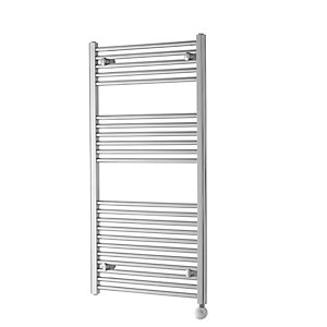 Towelrads Richmond Straight Ladder Thermostatic Towel Rail Chrome 1186mm