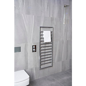 Towelrads Strand Straight Ladder Towel Rail Chrome 500mm