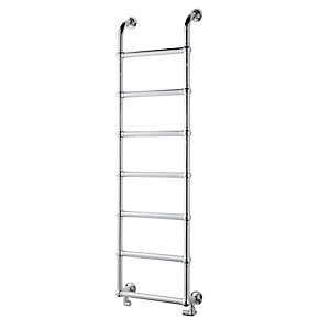 Towelrads Upton Victorian Straight Ladder Towel Rail Chrome 500mm