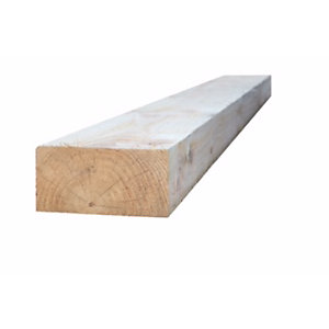 C16 Kiln Dried Sawn Treated Timber 100mm x 250mm