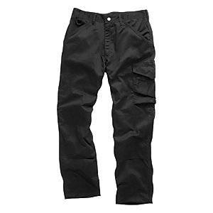 Scruffs Worker Trouser Black 32inW 31inL