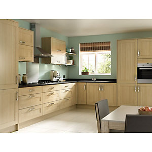Tulsa Oak 8 Unit Kitchen Range