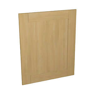 Tulsa Oak Effect Kitchen  Appliance Door (B) 600mm x 731mm
