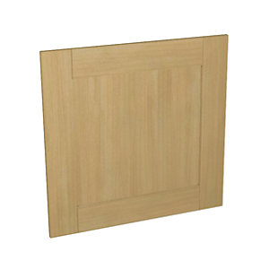 Tulsa Oak Effect Kitchen  Appliance Door (C) 600mm x 584mm