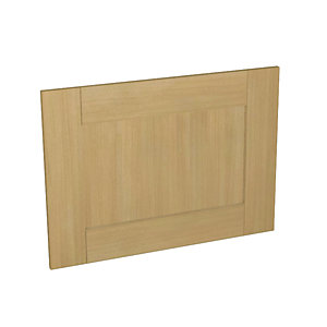 Tulsa Oak Effect Kitchen  Appliance Door (D) 600mm x 437mm