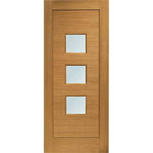 Turin External Oak Door