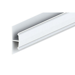 Liniar Soffit H Trim White 3000mm x 50mm (Pack of 5)