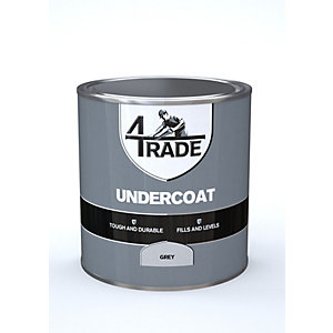 4Trade Undercoat Paint Grey 1L