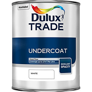 Dulux Trade Undercoat Paint White 1L
