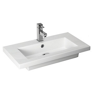 Iflo In Line Basin 710mm x 375mm