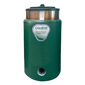 Gledhill BDCOM01 Direct Circular Combination Tank 2010 Part L 900mm x 400mm