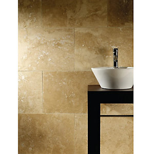 4 Trade Travertine Tile 610mm x 406mm x 12mm