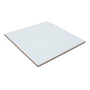 4Trade White Tile 150mm x 150mm Pack of 44
