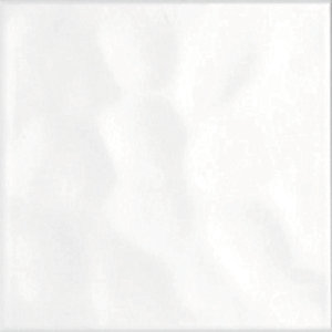 BCT Reflections Gloss Bumpy White Wall Tiles 198mm X 198mm