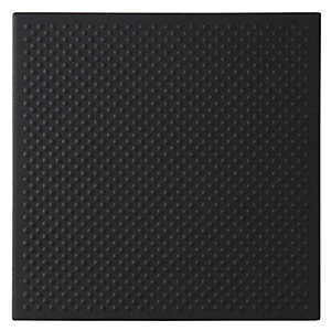 Dorset Woolliscroft Pinhead Black Porcelain Quarry Tile 148mm x 148mm Pack of 44 DW-PHBLK1515