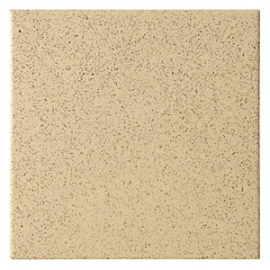 Dorset Woolliscroft Plain Stone Porcelain Re Quarry Tile 148mm x 148mm Pack of 44 DW-RESTO1515