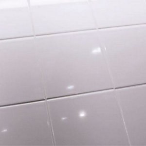 Johnson Tiles Opal White Tile 152mm x 152mm