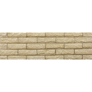 Marshalite Pitched Buff New Face Walling 220mm x 100mm x 65mm