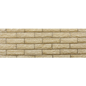 Marshalite Pitched Buff New Face Walling 440mm x 100mm x 140mm