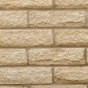 Marshalite Pitched New Face Buff Walling 365mm x 100mm x 140mm