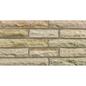 Marshalls Fairstone Pitched Autumn Bronze Walling Pack 220mm x 65mm x 100mm