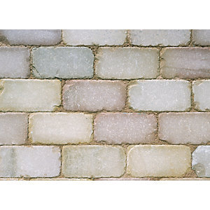 Marshalls Fairstone Setts Sawn Tumbled Autumn Bronze 50mm x 100mm x 200mm