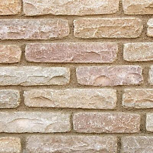 Marshalls Fairstone Tumbled Autumn Bronze Walling 365mm x 65mm x 100mm